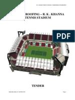 TENSILE ROOFING – R. K . KHANNA Tennis stadium