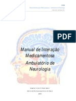 interações neurologia