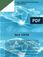 aula virtual enseñanza y aprendizaje