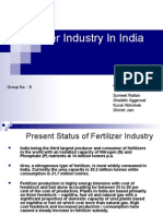 Fertilizer Industry in India