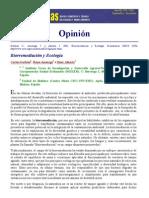 Biorremediación y ecología
