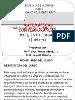 Presentación del prontuario Mat. Int. 4