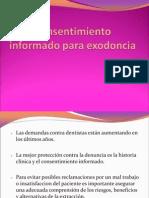 to Informado Para Exodoncia