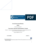 convocatoria cooperantes técnicos regionales