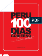 Boletín Perú en 100 días de gobierno