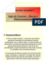 Lajes de Concreto - Marcus e Dimension Amen To