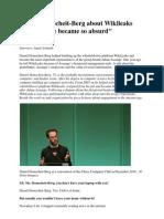Daniel Domscheit About WikiLeaks