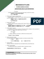 Mechanics of Fluids - 2 Marks - ALL Units - 2011