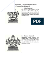 32 Forms Lord Ganesh
