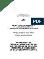Herramientas Para La Estandarizacion de Procesos