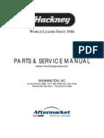 Hackney Parts Service Manual