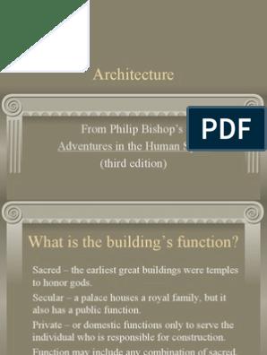 Architecture Style Sculpture