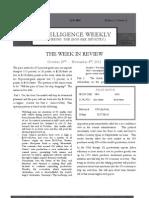Intelligence Weekly Vol 1