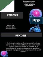 Psicosis Organica y No Organica
