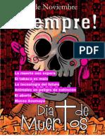 Cobao Revista Dia de Muertos