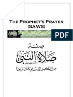 The Prophet's Prayer (SAWS)