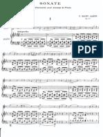C.saint-Saens Clarinet Sonata