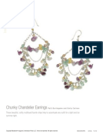 Chunky Chandelier Earrings