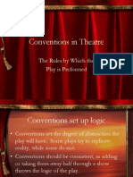 Conventions in Theatre