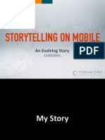 2011-11-02 Mobile Storytelling (@ Microsoft Research)