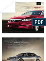 2012 Honda Accord Brochure