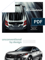 2012 Honda Crosstour Brochure