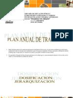 Plan Anual de Ciencias 1 CPO 2011-2012
