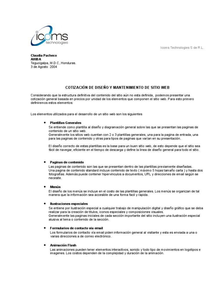 cotizacionweb standard