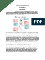 Transcripcion de Inmunologia General