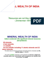 12 Wealth of India Rocks