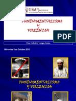 9 Novena Clase Fundamentalismo y Violencia 5oct11
