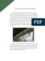 Antara Analisa Dan Aktual Pada Jembatan Rangka