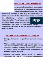 International Strategic Alliances 1