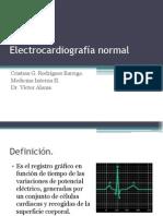 Electrocardiografía normal- HSJD