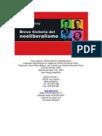 Harvey, Introd, Cap1- Breve Historia Del Neoliberalismo