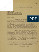 Carta Renuncia de J. Alessandri a Videla