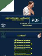 OBSTRUCCIÓN DE LA VÍA AEREA