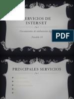 Deber #3 Servicios de Internet