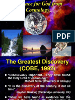 03. Evidence for God From Cosmology