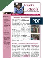 Eureka School October Newsletter