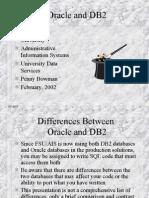 OracleVsDB2