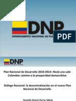Dialogo Nacional Rinde Presentaci%F3n DNP