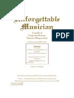 Unforgettable Musician (Mammen Bhagavathar)