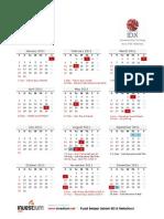 Kalender Bursa 2011