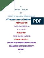 Brand Awareness of Life Insurance