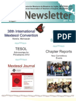 Mextesol Newsletter No. 2, 2011