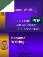 Resume Writing-FDP 03.01