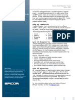 Epicor Data Migration Tools Fact Sheet