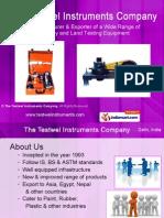 The Testwel Instruments Company New Delhi India