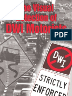 The Visual Detection of the DWI Motorist - March 2010